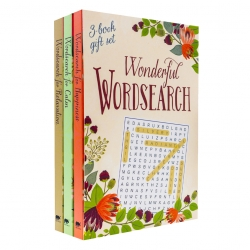 Wonderful Wordsearch Collection 3 Books Box Set (Happiness, Calm, Relaxation) Photo