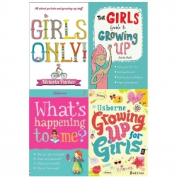 Guide to Growing Up for Girls Collection 4 Books Set (Girls Only, Girls Guide to Growing Up, Growing up for Girls, Whats Happening to Me) Photo