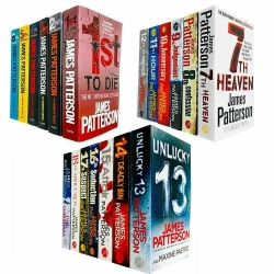 James Patterson Womens Murder Club Series Collection 19 Books Set (1 to 19) Photo