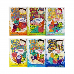 Billy and the Mini Monsters 6 Books Collection Set by Zanna Davidson Photo
