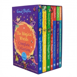 Enid Blyton Magical Worlds Complete Collection Faraway Tree & Wishing-Chair 7 Books Box Set Photo