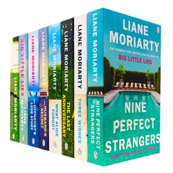 Liane Moriarty Collection 8 Books Set (Three Wishes, Big Little Lies, What Alice Forgot, Truly Madly Guilty, The Husbands Secret and More) Photo