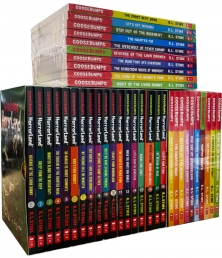 The Goosebumps Horrorland Collection 38 Books Set by R L Stine Photo