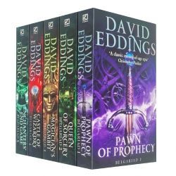 The Belgariad Series 5 Books Collection Set By David Eddings Photo