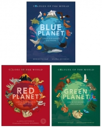 Colours of the World Series 3 Books Collection Box Set (Blue Planet, Green Planet, Red Planet) Photo