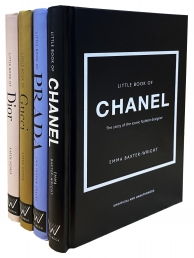 The Little Guides to Style 4 Books Collection Set (Gucci, Prada, Dior, Chanel) Photo