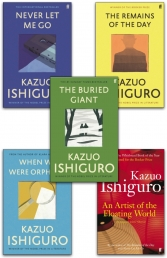 Kazuo Ishiguro Collection 5 Books Collection Set (An Artist of the Floating World, When We Were Orphans, The Remains of the Day & More) Photo