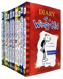 Diary Of A Wimpy Kid Collection 10 Books Set The Getaway Hardluck The Third Wheel Photo