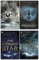 Marie Lu Collection 4 Books Set - Prodigy, The Young Elites, The Rose Society, The Midnight Star Photo