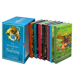 The Chronicles of Narnia 7 Books Collection Box Set By C.S.Lewis Hardcover Photo