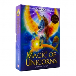 The Magic of Unicorns Oracle Cards: A 44-Card Deck and Guidebook Photo