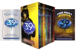 The 39 Clues Series 11 Books Set pack Collection I Includes 2 Cards Packs
