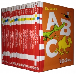 Dr Seuss Childrens Book Collection 22 Books Set Brand New (Dr. Seuss, Cat in the Hat, ABC, etc) by Dr Seuss