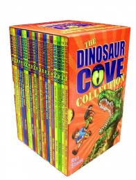 Dinosaur Cove Series Collection 20 Books Set 1 to 20 Pack Rex Stone New PB