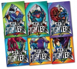 Star Fighters 6 books collection pack set Photo