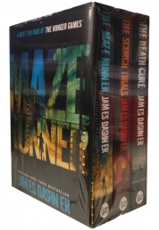 Maze Runner Box Set Series 3 books Collection James Dashner - The Maze runner, The scorch Trials, The Death Cure - NEW PB Hunger Games Fans