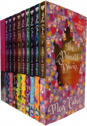 The Princess Diaries Collection 10 Books Set Meg C Photo