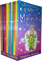 Mr Majeika Collection 14 Books Set (Mr Majeika,the School Trip,Mr Majeika and the Lost Spell Book,the Ghost Train, the Dinner Lady, the School Caretak