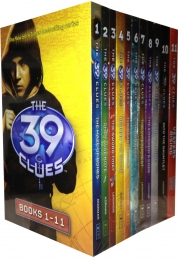 The 39 Clues Collection 11 books Set pack plus 66 Photo