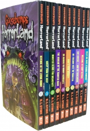 Goosebumps HorrorLand Series 10 Books Set Collecti Photo