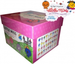 Little Miss 34 Books Complete Collection Box Boxed Photo