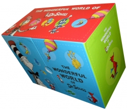 The Wonderful World of Dr. Seuss Series 20 Books Gift Box Set Collection New