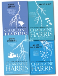 Charlaine Harris 4 Books Collection Set Harper Con Photo