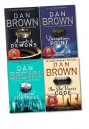 Dan Brown 4 Books Collection Set Photo