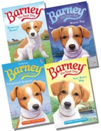 Barney The Boat Dog By Linda Newbery 4 Books Set Collection by Linda Newbery