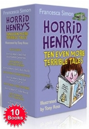 Horrid Henry Even More Terrible Tales 10 Books set Photo
