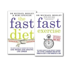 The Fast Diet And Fast Exercise 2 Books Photo