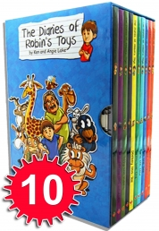 The Diaries of Robins Toys is a combo of Wimpy Kid and Toy Story Best Children Books