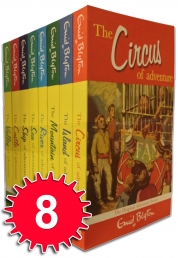 Enid Blyton Adventure Series 8 Books Set Collection Children Classic Books