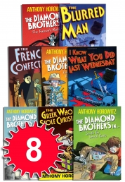 The Diamond Brothers Detective Agency Collection Anthony Horowitz 8 Books Set