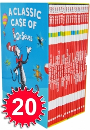 Dr. Seuss A Classic Case Series 20 Books Gift Box Set