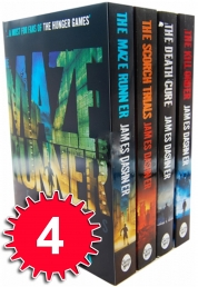 Maze Runner Series 4 books Set Collection James Dashner