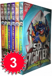 Star Fighters 6 books collection pack set