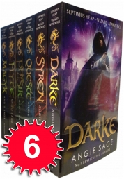 Septimus Heap Wizard Apprentice Series 6 Books Box Set childrens Book set Collection Pack Angie Sage