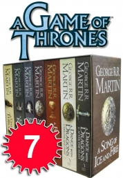 A Game of Thrones Box Set George R.R Martin Collection