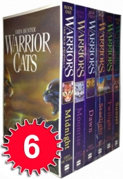 Warrior Cats Collection by Erin Hunter 6 Books Set (The New Prophecy) by Erin Hunter