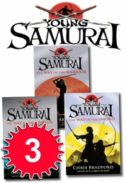 Young Samurai Series Collection 3 Books Set Pack Brand NEW by Chris Bradford