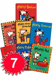 Maisy Mouse Loves Collection 7 Books Set Lucy Cousins Early Learners Children by Lucy Cousins