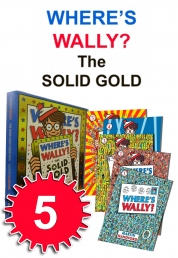 Where's Wally? The Solid Gold Collection 5 Books B Photo