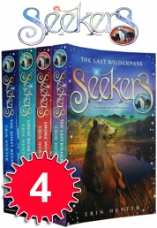 Erin Hunter Seekers Collection 4 Books Set Pack Photo