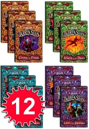 Saga of Darren Shan 12 books pack set