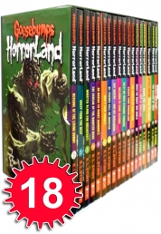 Goosebumps Horrorland Collection R L Stine 18 Book Photo