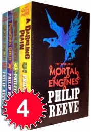 Mortal Engines Collection Philip Reeve 4 Books Set Pack by Philip Reeve