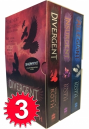 Divergent Insurgent Allegiant Trilogy 3 Books Collection Set by Veronica Roth