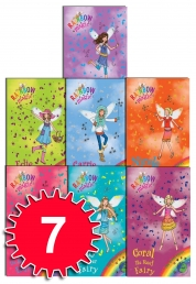 Rainbow Magic Green Fairies (78-84) 7 Books Box Se Photo