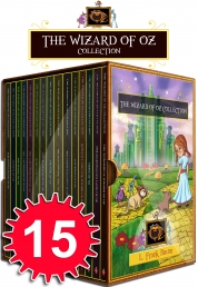 Wizard of Oz Collection 15 Books Box Gift Set Marvellous of Oz, Ozma of Oz